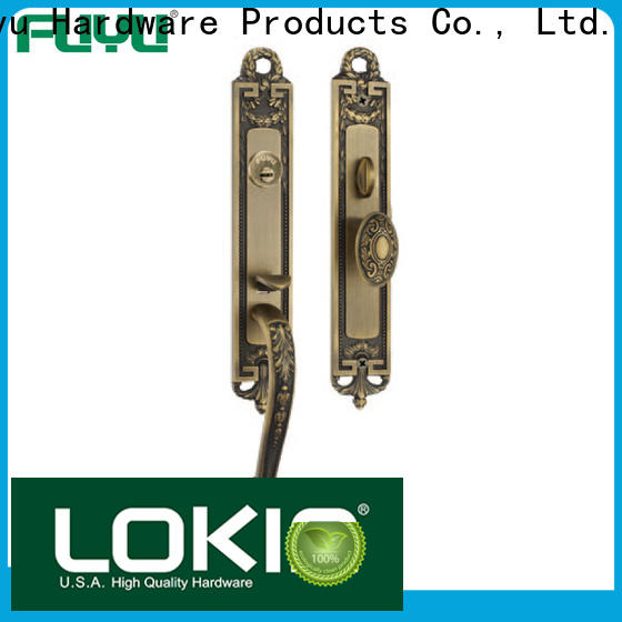 FUYU zinc mortise lock brass on sale for home