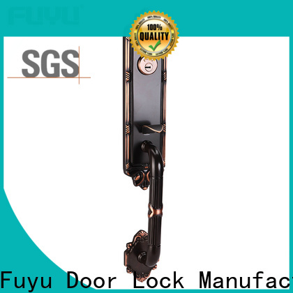 FUYU oem brass door locks and handles meet your demands for mall