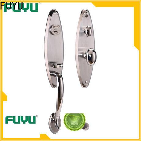 custom aluminium door lock single with international standard for residential