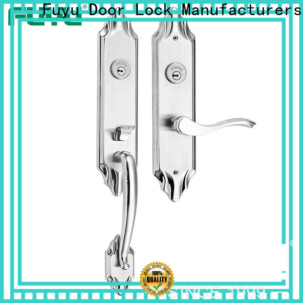 FUYU two stainless steel mortice lock extremely security for residential