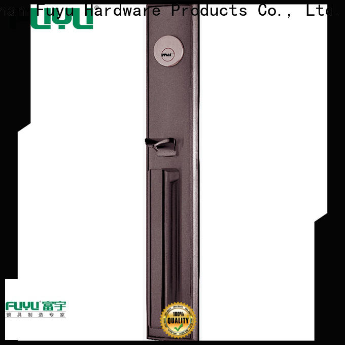 FUYU oem zinc alloy mortise door lock on sale for shop