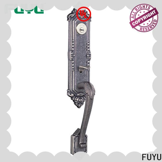 FUYU plate anti-theft zinc alloy door lock on sale for entry door