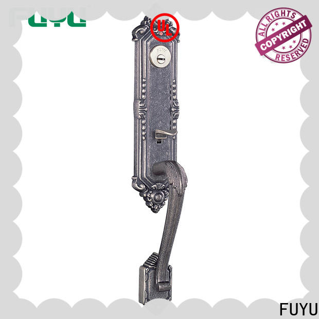 FUYU plate anti-theft zinc alloy door lock on sale for entry door