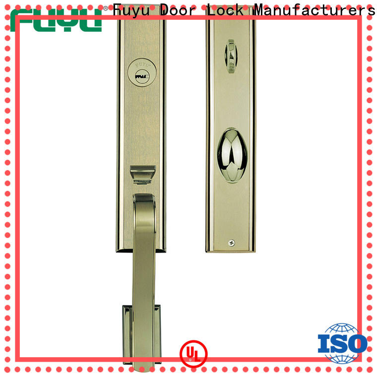 FUYU made best front door locks with latch for shop