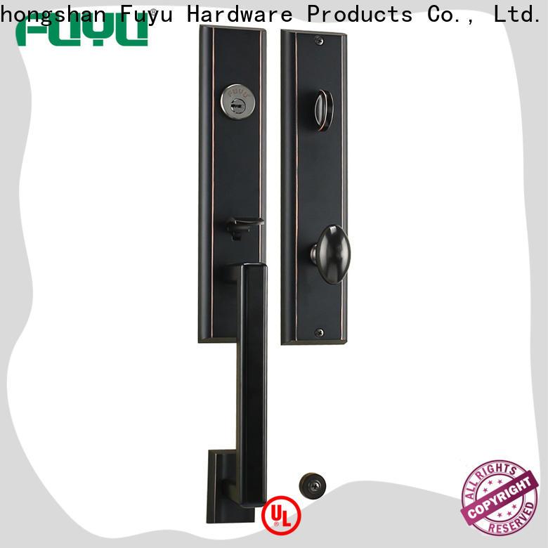FUYU external zinc alloy lock on sale for shop