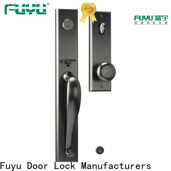 FUYU usa zinc alloy mortise door lock on sale for entry door