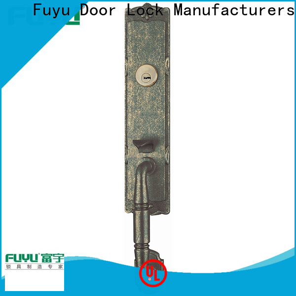 FUYU custom handle door lock for sale for wooden door
