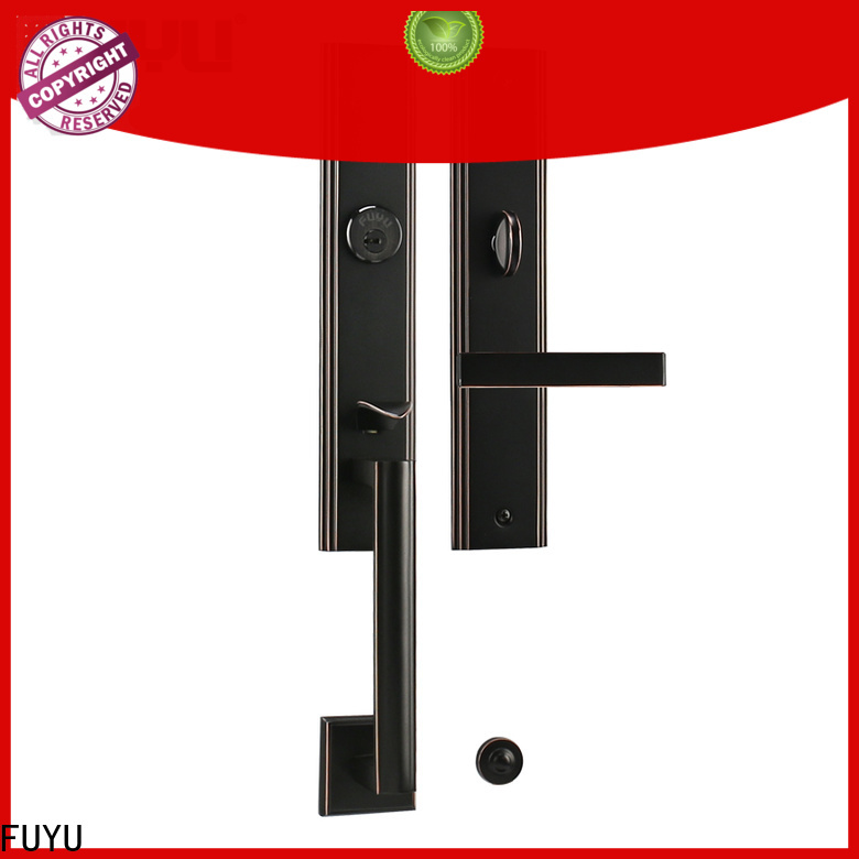 FUYU quality multipoint lock manufacturer for mall