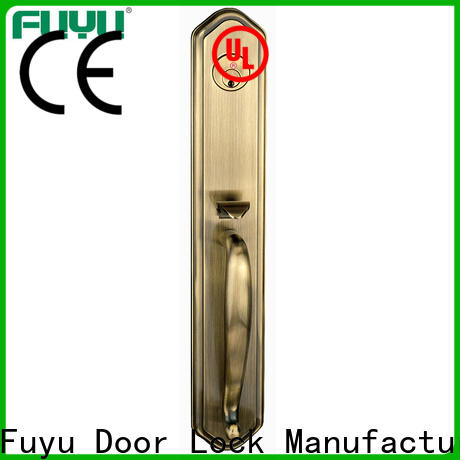 FUYU high security multipoint lock supplier for wooden door
