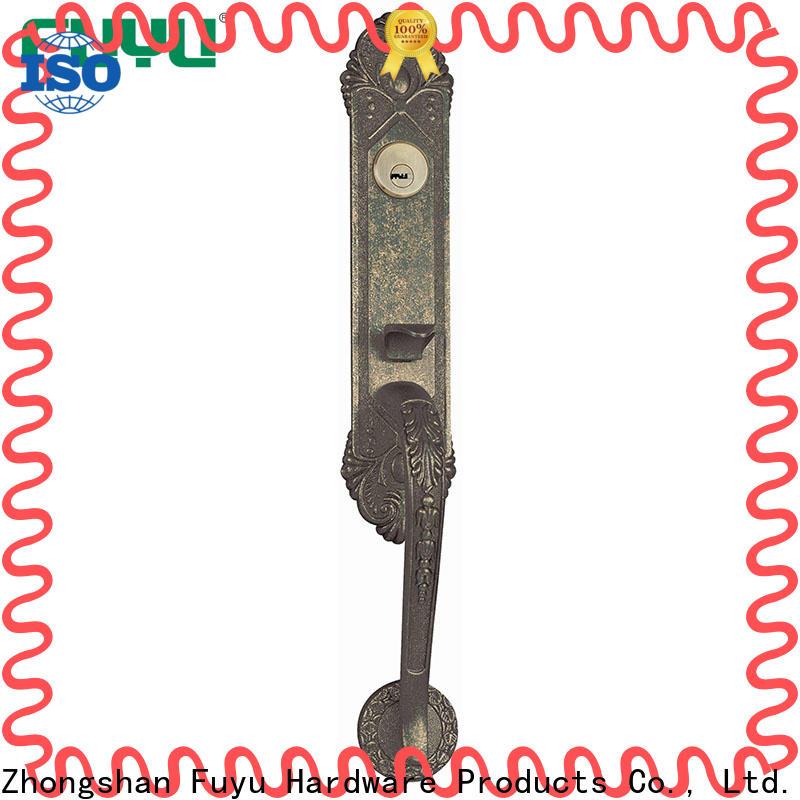FUYU custom grip handle door lock for sale for mall