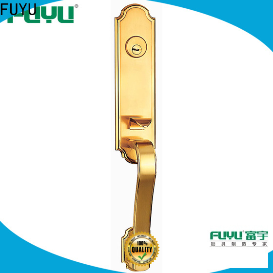 FUYU custom entry door locks manufacturer for mall