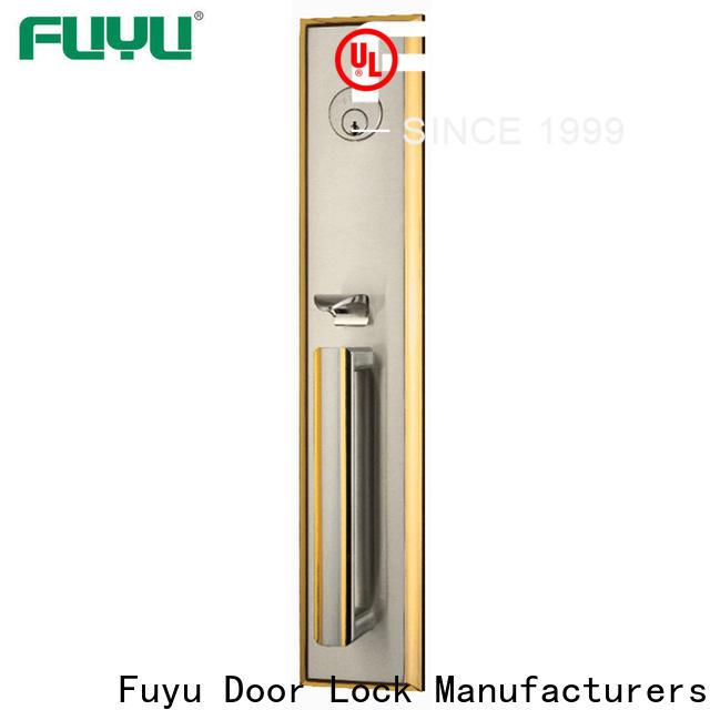 FUYU grip handle door lock for sale for wooden door