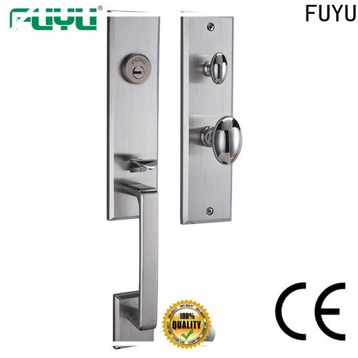 FUYU high security handle door lock for sale for mall