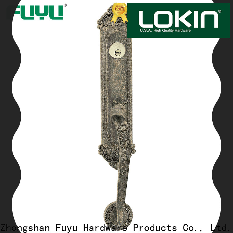 FUYU handle door lock for sale for residential