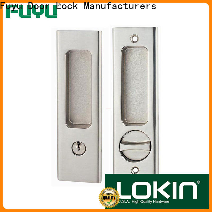 FUYU door anti-theft zinc alloy door lock with latch for entry door