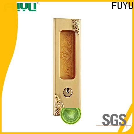 FUYU long custom zinc alloy door lock meet your demands for indoor