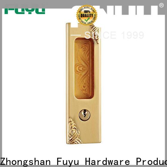 FUYU oem slide bolt lock manufacturer for wooden door