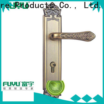 FUYU main zinc alloy grip handle door lock meet your demands for indoor