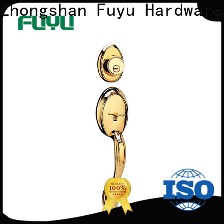 FUYU quality handle door lock supplier for wooden door