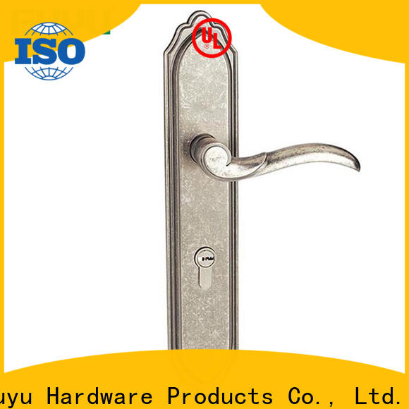 FUYU high security mortise front door lock extremely security for wooden door