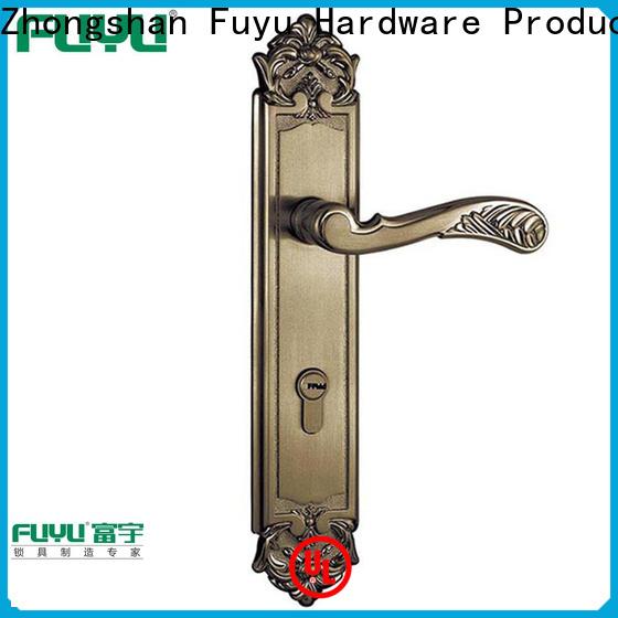 FUYU easy simple door lock with latch for indoor