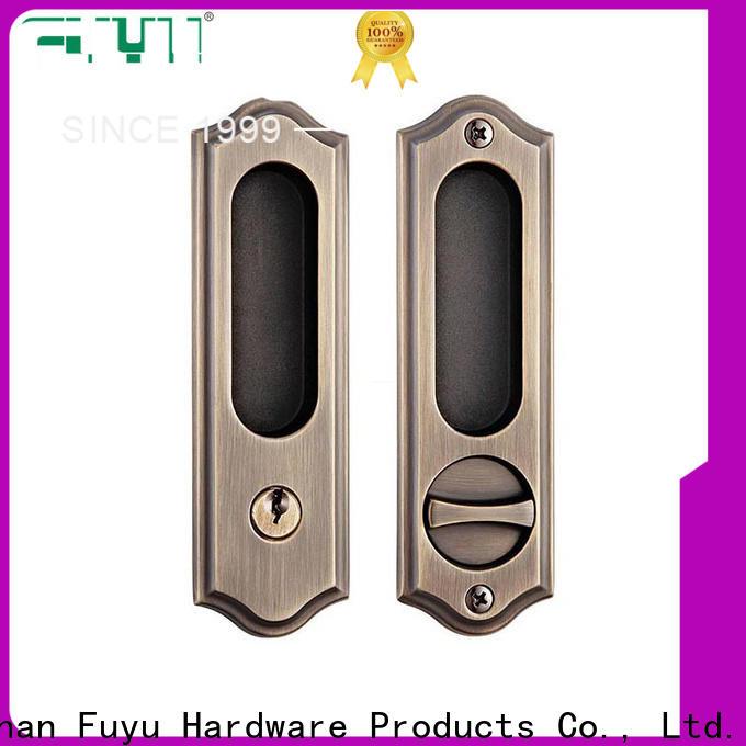 FUYU aluminium sliding door locks for sale for entry door