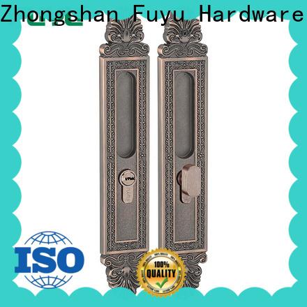 custom heavy duty sliding door lock supplier for mall