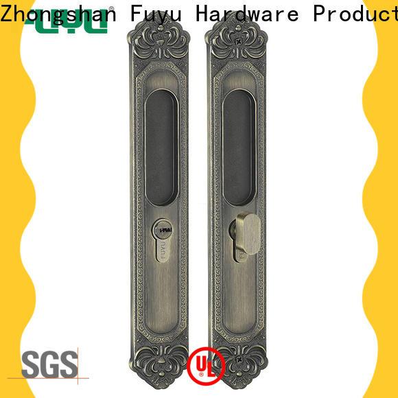 exterior sliding door lock manufacturer for mall