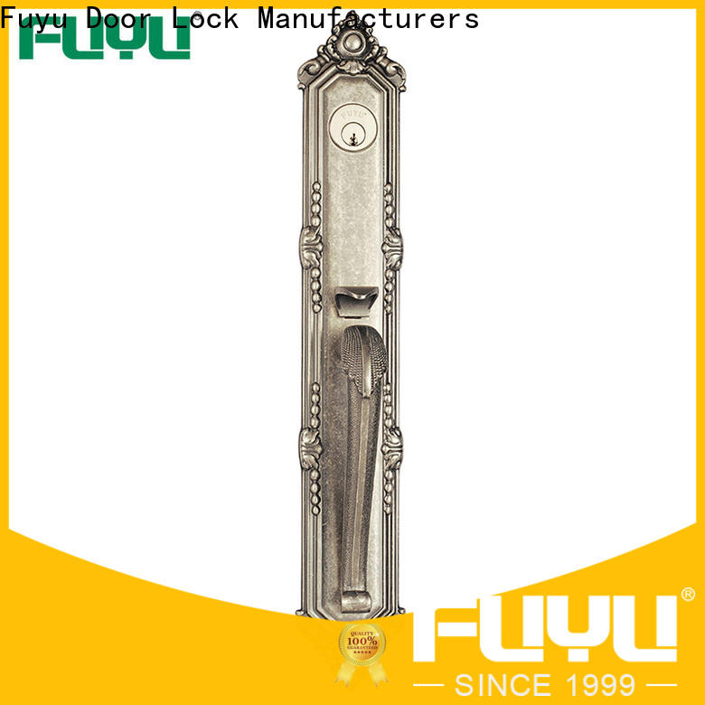 FUYU quality zinc alloy door lock factory on sale for entry door