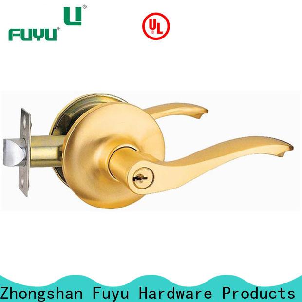 FUYU toilet door lock with international standard for toilet