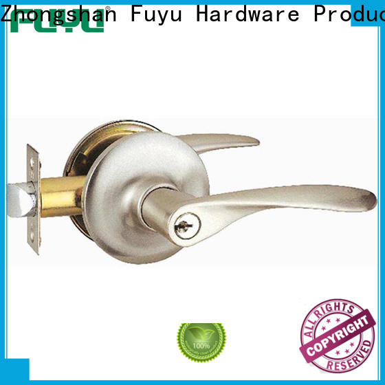 FUYU toilet door lock extremely security for mall