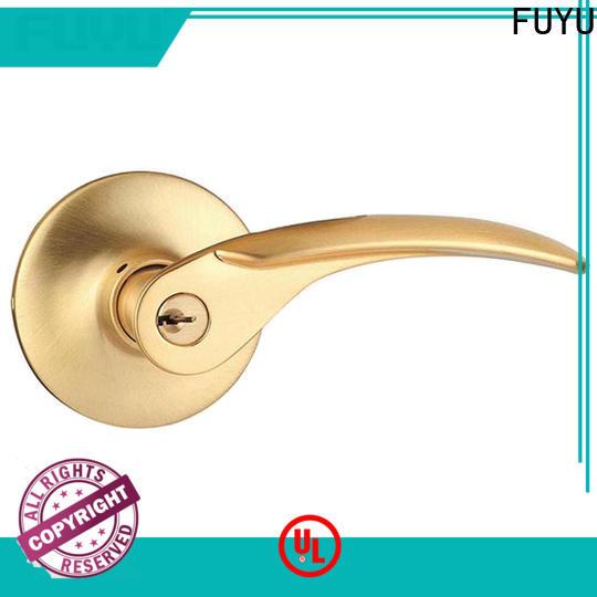 FUYU entrance door locks on sale for mall