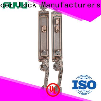 FUYU custom apartment door locks with latch for mall