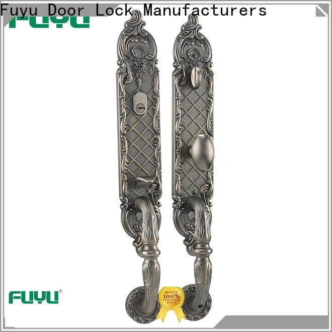 FUYU security zinc alloy door lock for wooden door meet your demands for mall