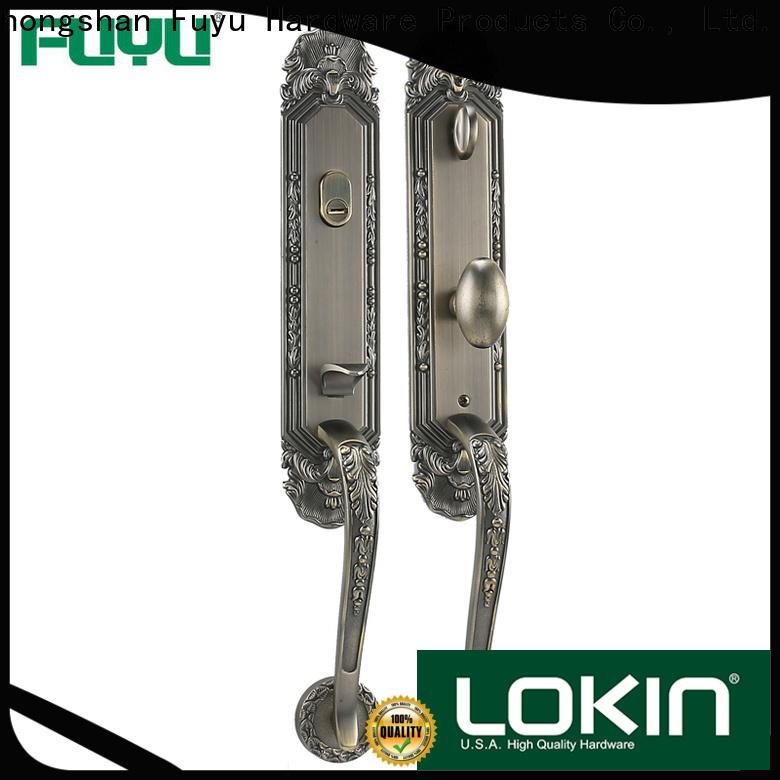 durable customized zinc alloy door lock quantity on sale for shop