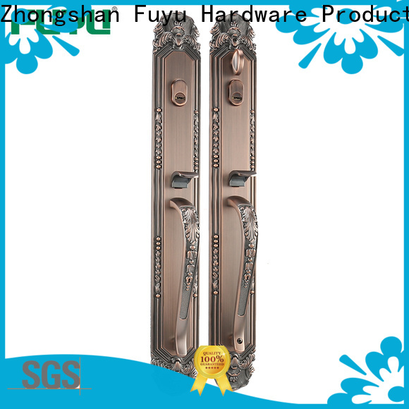 FUYU quality anti-theft zinc alloy door lock with latch for indoor