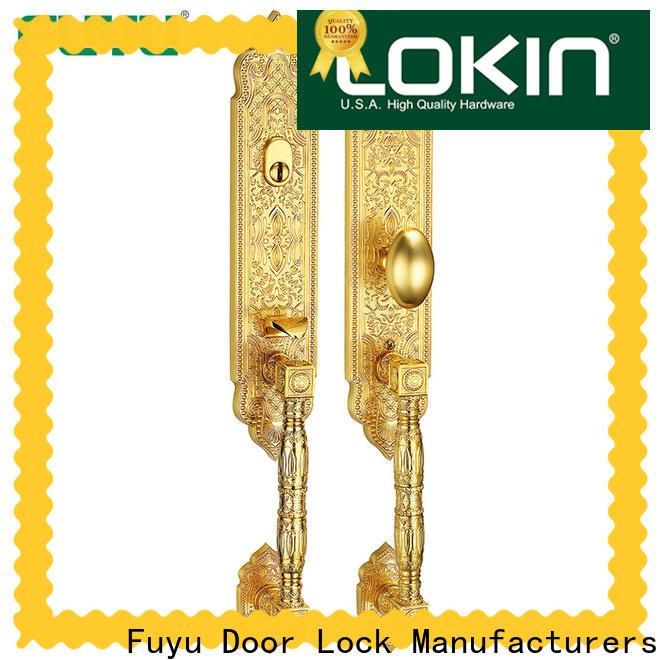 FUYU profile anti-theft zinc alloy door lock on sale for indoor
