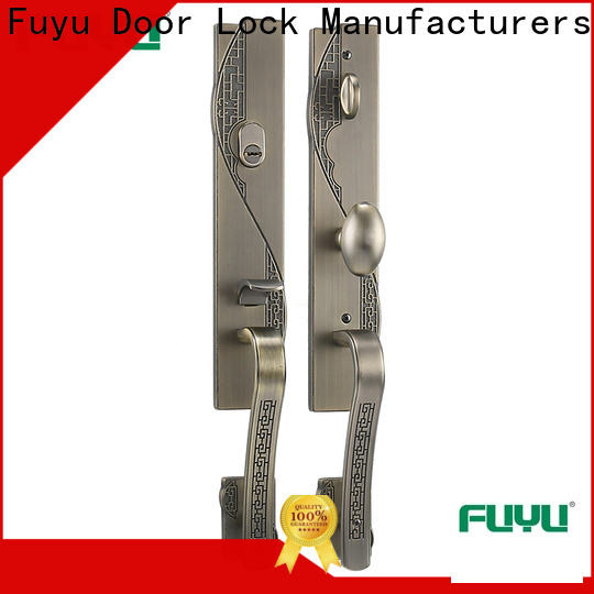 custom zinc alloy door lock wholesale test with latch for mall