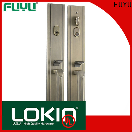 FUYU quality best lock for door with latch for mall