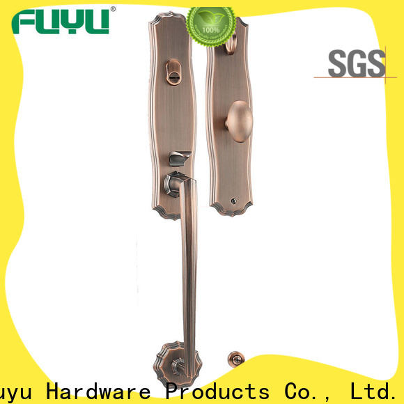 FUYU durable five lever lock with latch for shop