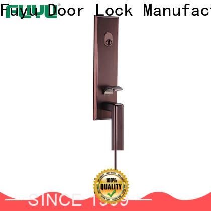FUYU oem best front door locks meet your demands for mall