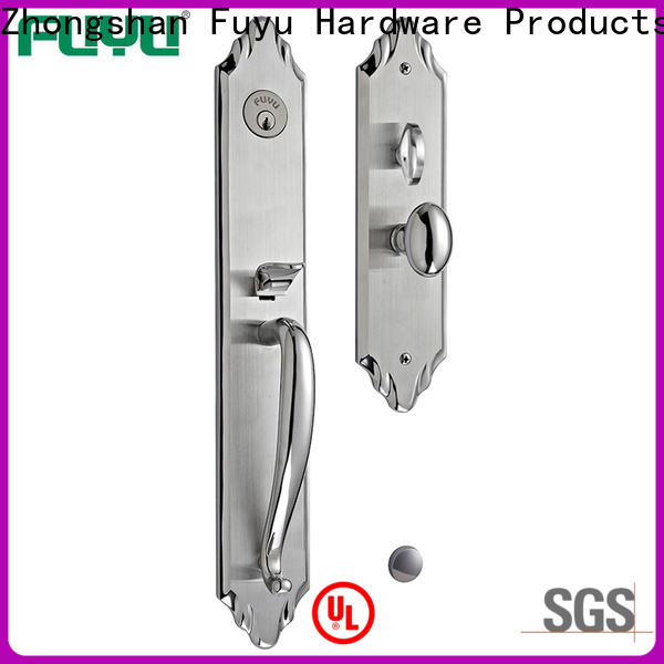 FUYU high security handle door lock supplier for residential