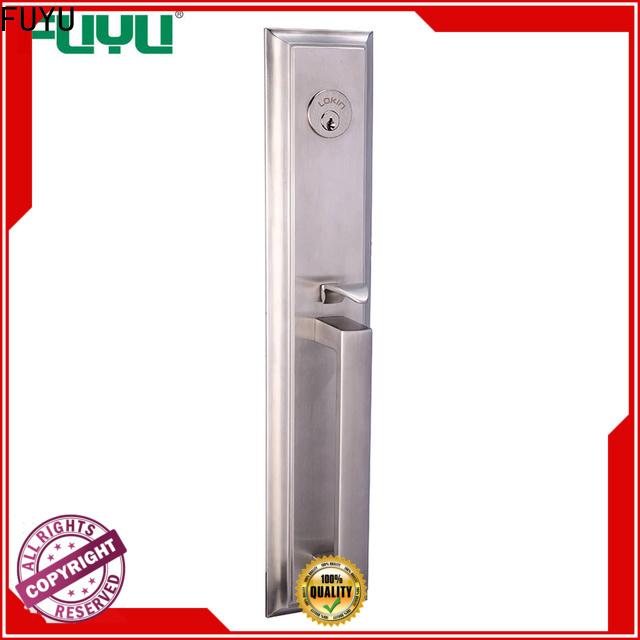 FUYU mortise indoor lock key with international standard for wooden door