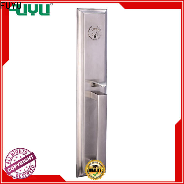 FUYU mortise indoor lock key with international standard for wooden door