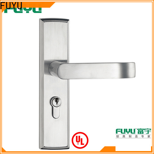 FUYU knob stainless door lock extremely security for shop