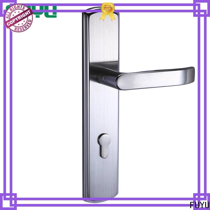 FUYU custom stainless door lock on sale for wooden door