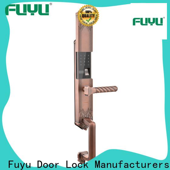 high tech fingerprint sensor door lock extremely security for mall