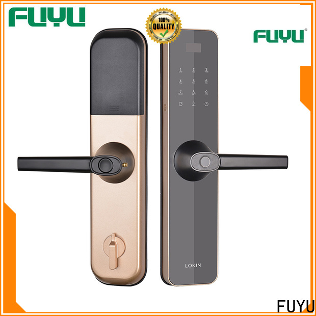quality thumbprint lock supplier for entry door