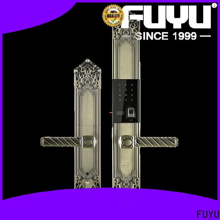 FUYU biometric door lock on sale for residential