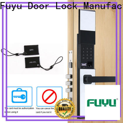 FUYU electronic front door lock supplier for gate
